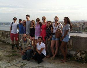 2014 Cuba students at Morro Castle