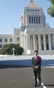 Syed at Japanese National Diet
