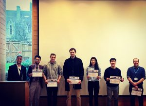 Student participants at 1st OUPM symposium